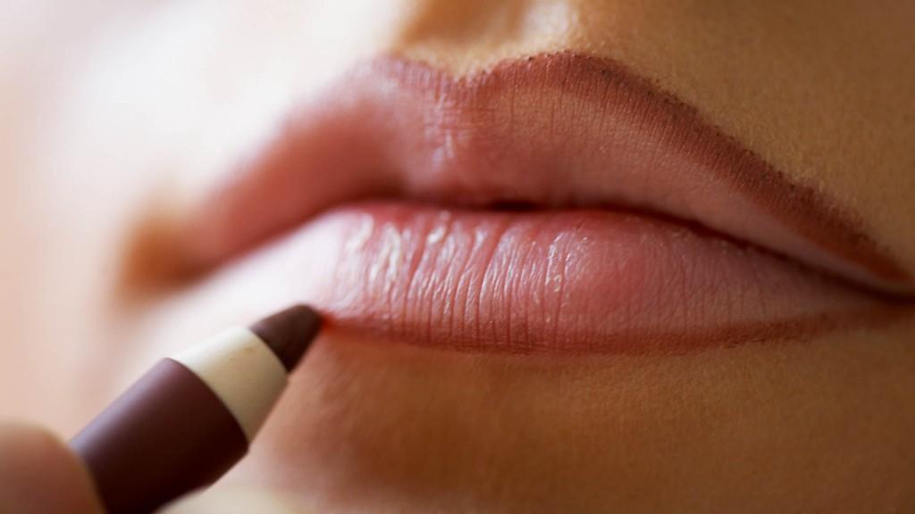how makeup lips 0
