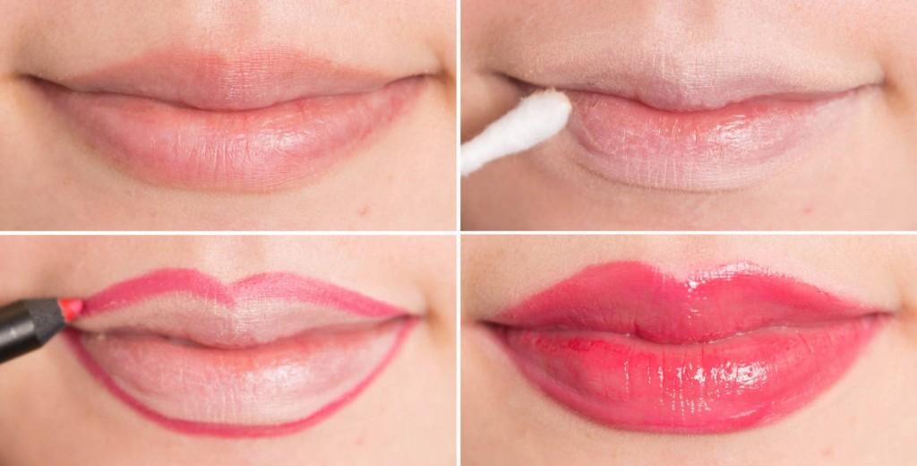 how makeup lips