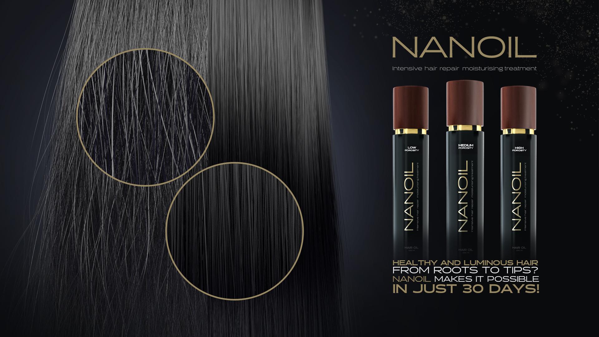 Масло за коса Nanoil – достигнете перфектността